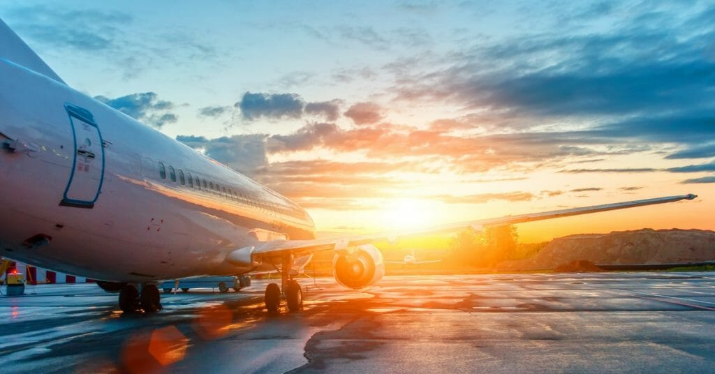 Plane departure